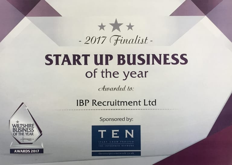 WBA Start Up Business of the Year 2017