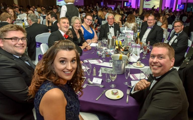Wiltshire Business Awards IBP Table